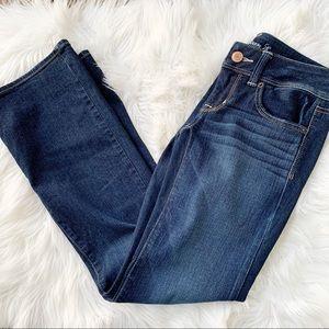American Eagle Dark Wash Slim Boot Jeans Size 2S